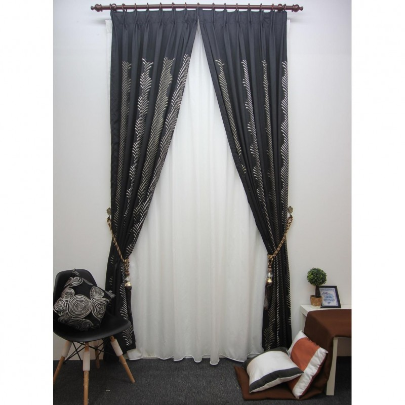 Mk French Pleated Curtain For Window And Sliding Door 4 Sizes Available Custom Made